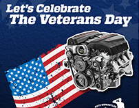 Veterans Day 2017 - Facebook Ad