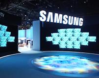 Samsung Main Exhibit CES 2016
