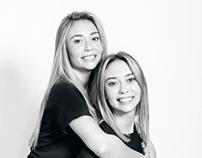 Portrait de jumelles