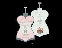 Waist Shaper label Packages