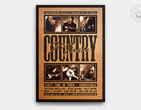 Country Music Flyer Template V4