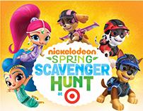 Nickelodeon's Target Spring Scavenger Hunt