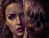 Separation - Girl & Skull Tree