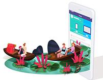 Peps.io Landing Page