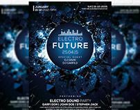 Electro Future Vol.3 - Flyer + Facebook Cover