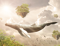 Legendary Whale | Photo manipulation