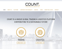 Count Trading & Logistics website