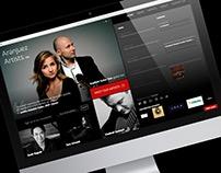 Aranjuez Artists, Inc. website