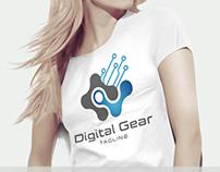 Digital Gear Logo