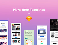 Newsletter Templates for Sketch