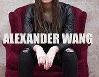 Alexander Wang Lookbook Collaboration