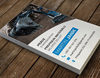 :: Digging company [business card]