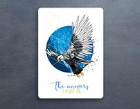 Greeting card : Aigle