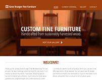 Custom Furniture Site Design