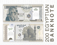 200 Egyptian Banknote Design