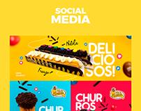 Social Media Delícia Churros