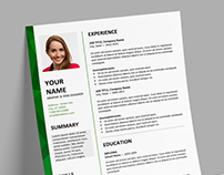 Dalston - FREE Resume template