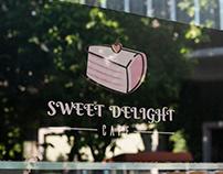 Sweet Delight Cafe | Logo Design | 2019