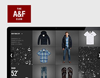 Abercrombie and Fitch / Weather Lookbook