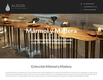 Aliquid: furniture design website