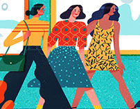 Are Your Friends Making You Fat? (STELLA magazine)