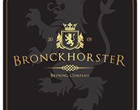 Logo design Bronckhorster Beer