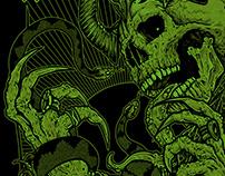 Weed Demon (US) - tshirt artwork