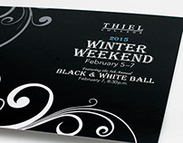 Winter Weekend Postcard (Thiel College)