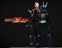 Kamen Rider Ghost 3D