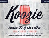 KOOZIE SCRIPT : Font by Good Gravy Type Co.
