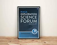 NASA Exploration Science Forum Branding