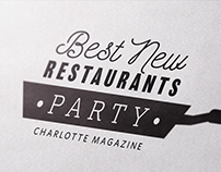 Best New Restaurants Party | Logo Design + Branding