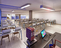 Ministry of Justice - Formation Classroom (Angola)