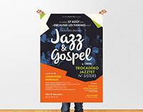 Affiche concerts Jazz & Gospel