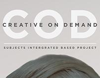 "Graphic Design: ""Creative On Demand"" Branding/Advert"