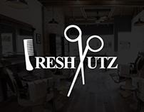 Fresh Kutz Barber Shop - Logo & Branding