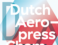 Dutch Aeropress Championship 2016 Poster