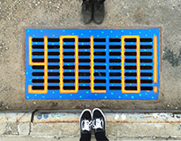 PAINTING DRAIN COVER IN NYC