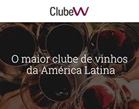 Redesign ClubeW - Wine