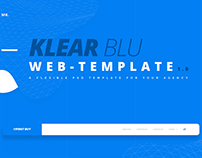 KlearBlu : Web Template for Agencies