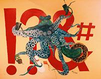 Octopus Mural 2017