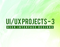 UI/UX Projects - 3