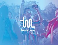 Trend.me App Concept