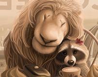 Lion&Raccoon-2