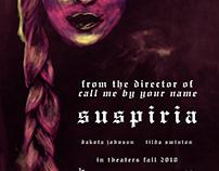 Suspiria 2018 remake Movie poster
