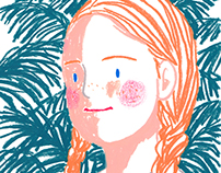 Girl / illustration
