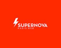 Identidade Visual Supernova Rádio Web