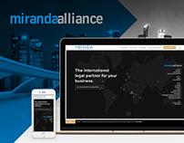 Miranda Website Responsive