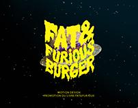 Fat&Furious Burger - Motion design