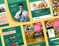 Food Discovery App Marketing Materials